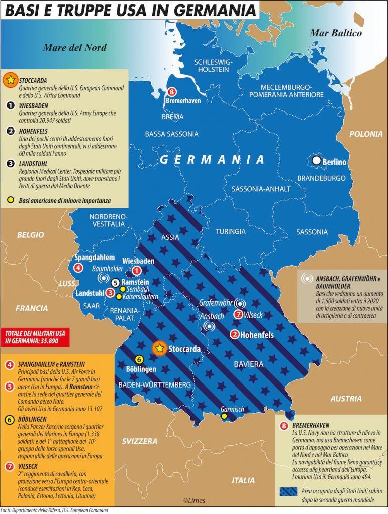 Cartina Geografica Germania Con Cap.Il Senso Del Pentagono Per L Insostituibile Spazio Tedesco Limes