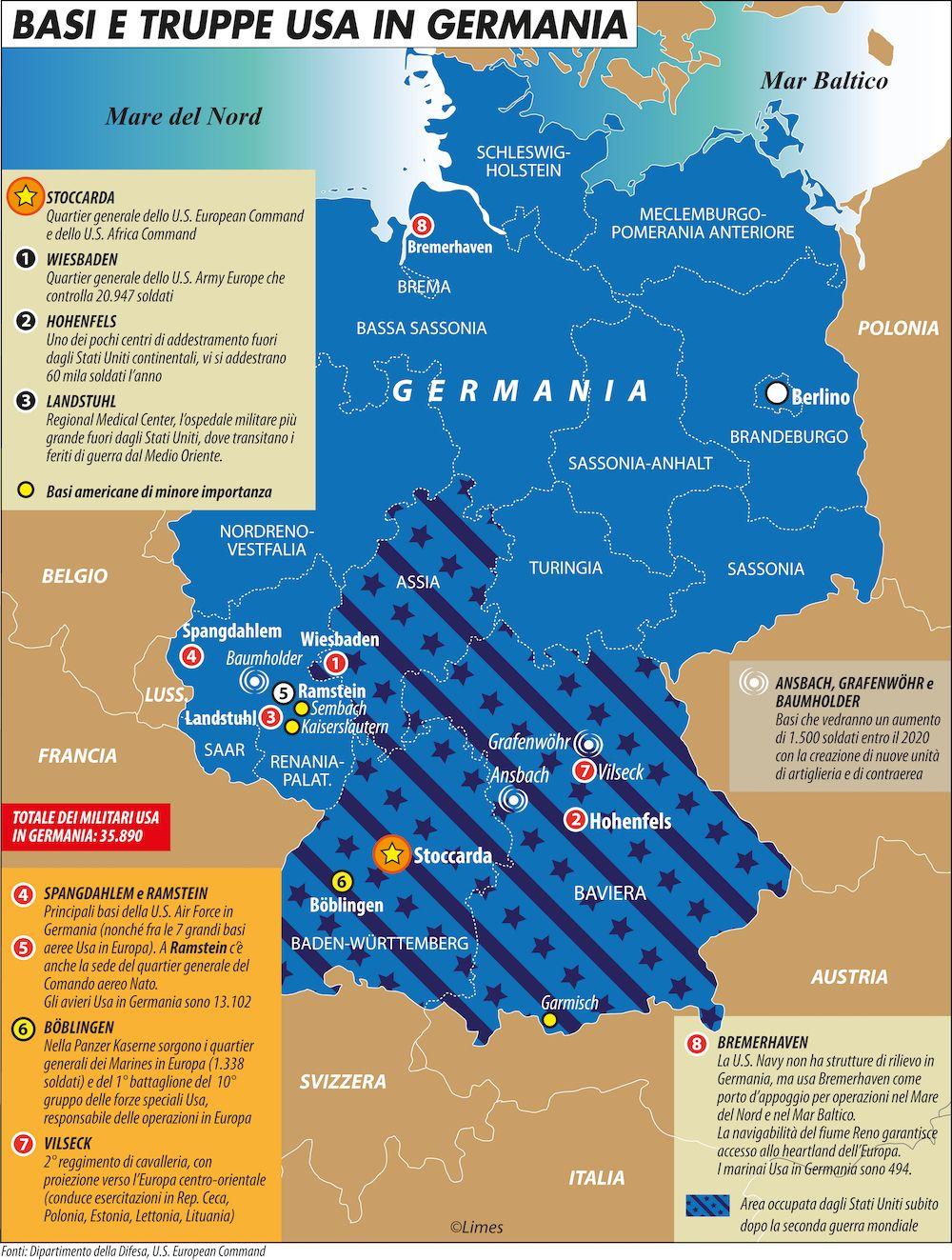 Petroni-Basi e truppe Usa in Germania