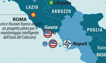 Dettaglio Huawei in Italia