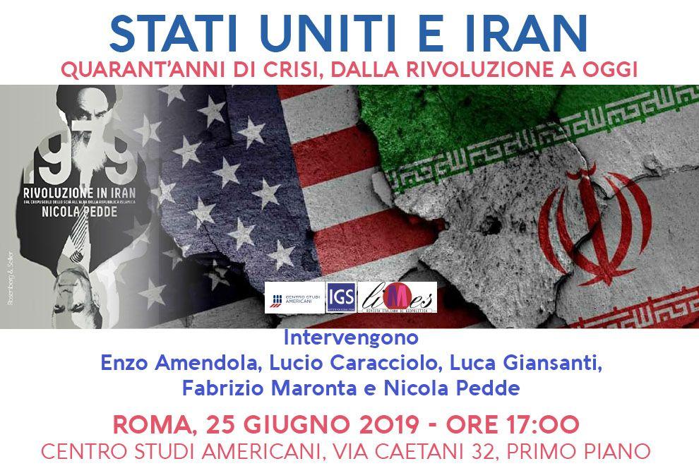 2019-06-25 - Conferenza Stati Uniti e Iran