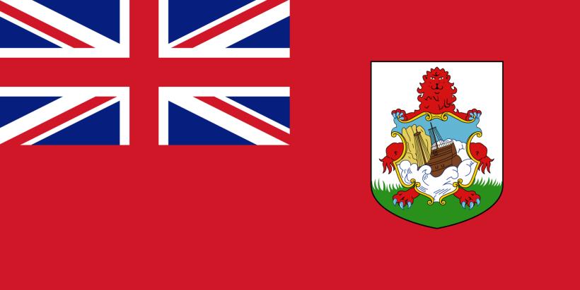 La bandiera delle Bermuda.