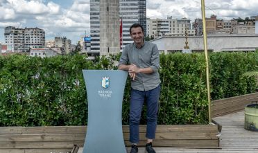 Erion Veliaj, sindaco di Tirana. Foto di Marco Carlone.