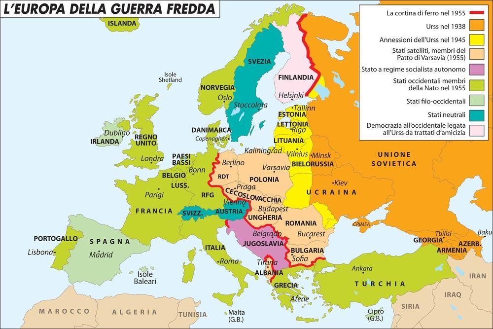 Cartina Geografica Europa Budapest.Ideologia E Geopolitica La Proiezione Dell Urss Nell Europa Della