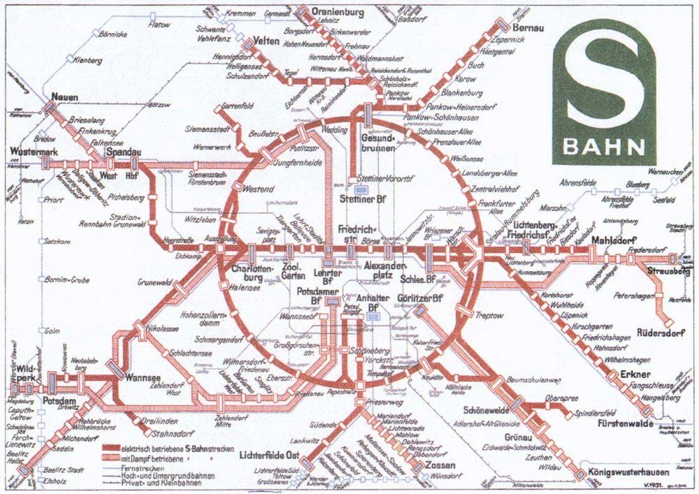 Fonte fig. 2: S-Bahn Berlin, 1931.