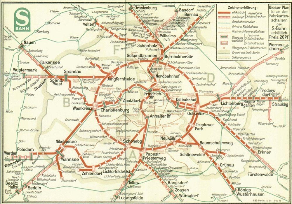 Fonte fig. 3: S-Bahn Berlin, 1952.