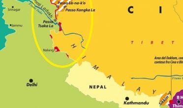 Dettaglio di una mappa di Laura Canali (2019).