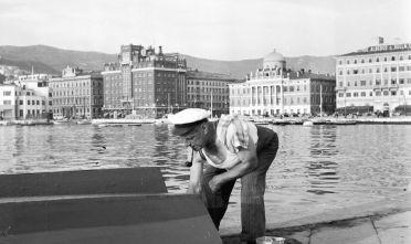 Trieste, anni Cinquanta (Foto da: Three Lions/Getty Images).
