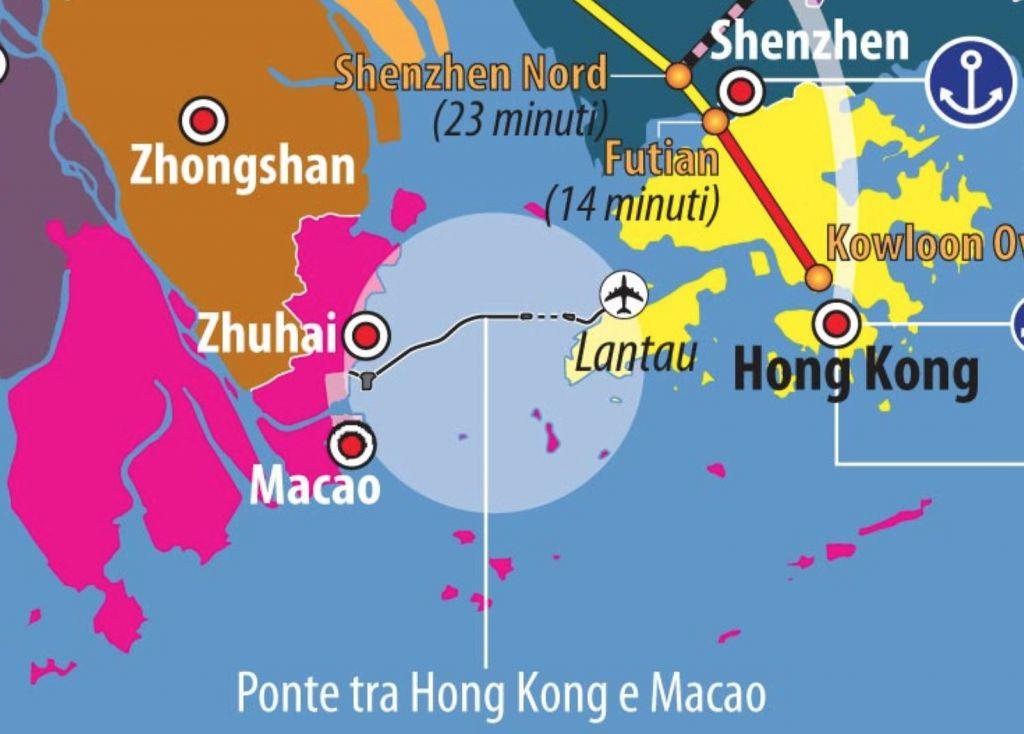 Cartina Hong Kong.Hong Kong E Macao Differenze E Rapporti Con La Cina Limes