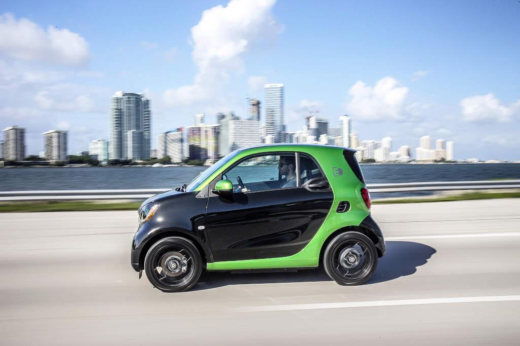 smart electric drive, Pressefahrvorstellung Miami 2016; smart electric drive, press test drive Miami 2016