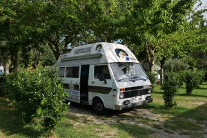 Il Vostok100k, camper-redazione mobile