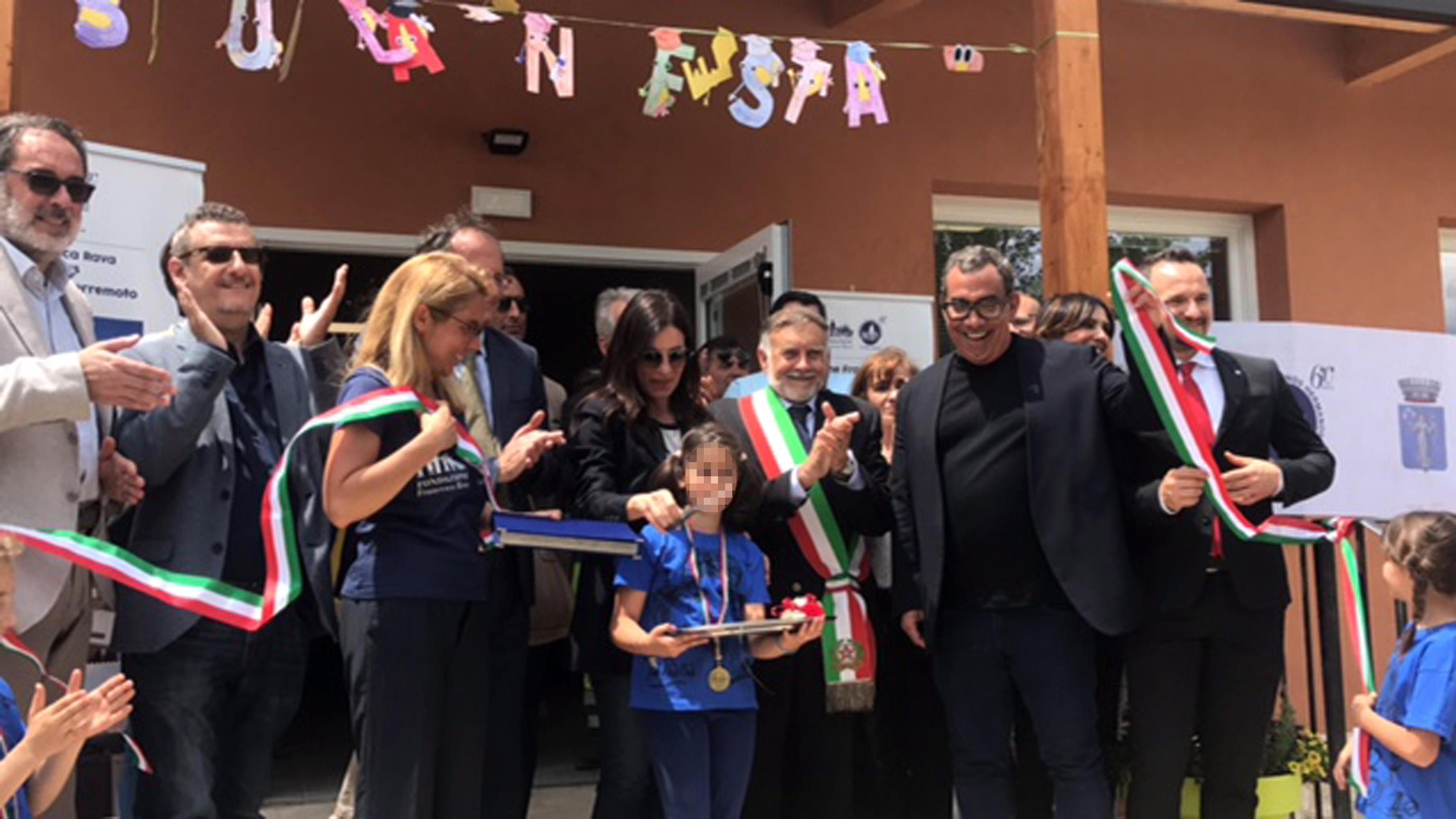 Terremoto: inaugurate nuove scuole medie e elementari Cascia