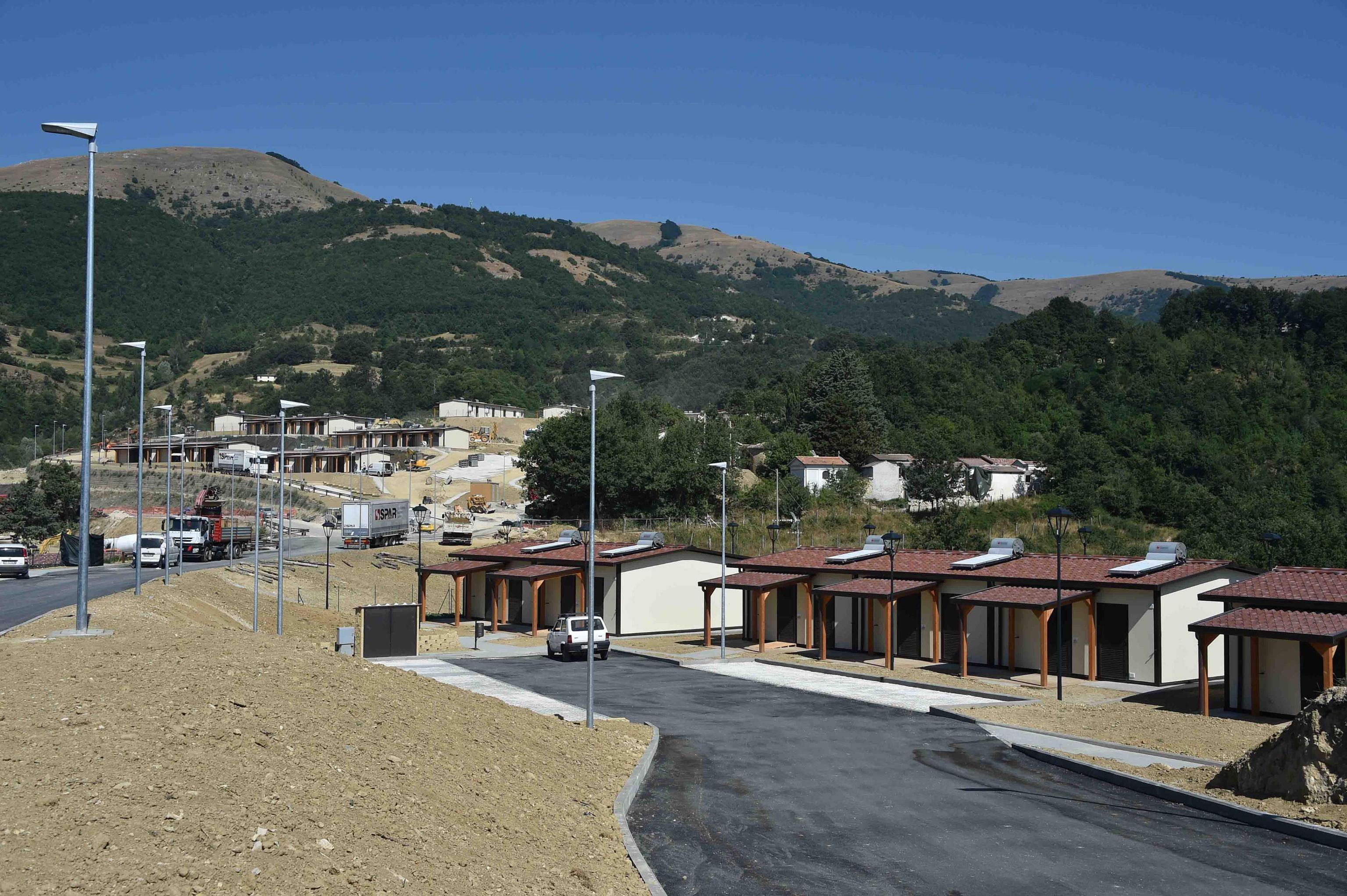 Terremoto:Zingaretti,presto case a tutti residenti Accumoli