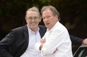 Il neo assessore Tiziano Uez con il sindaco di Trento Alessandro Andreatta