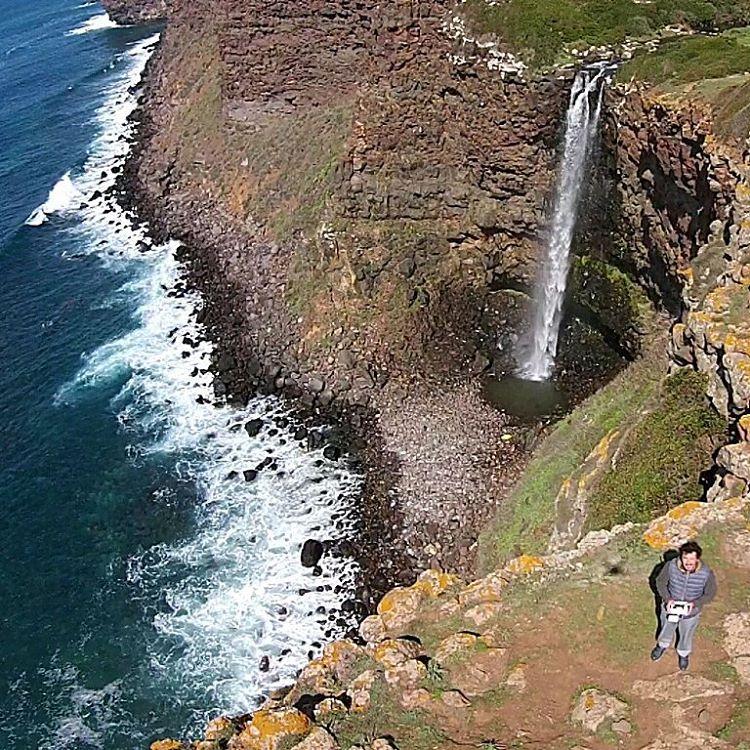 La cascata di Capo Nieddu, Cuglieri