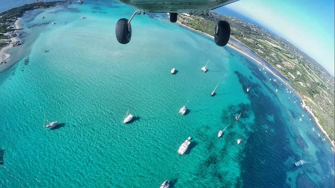 In volo sull'Isola Piana, Corsica