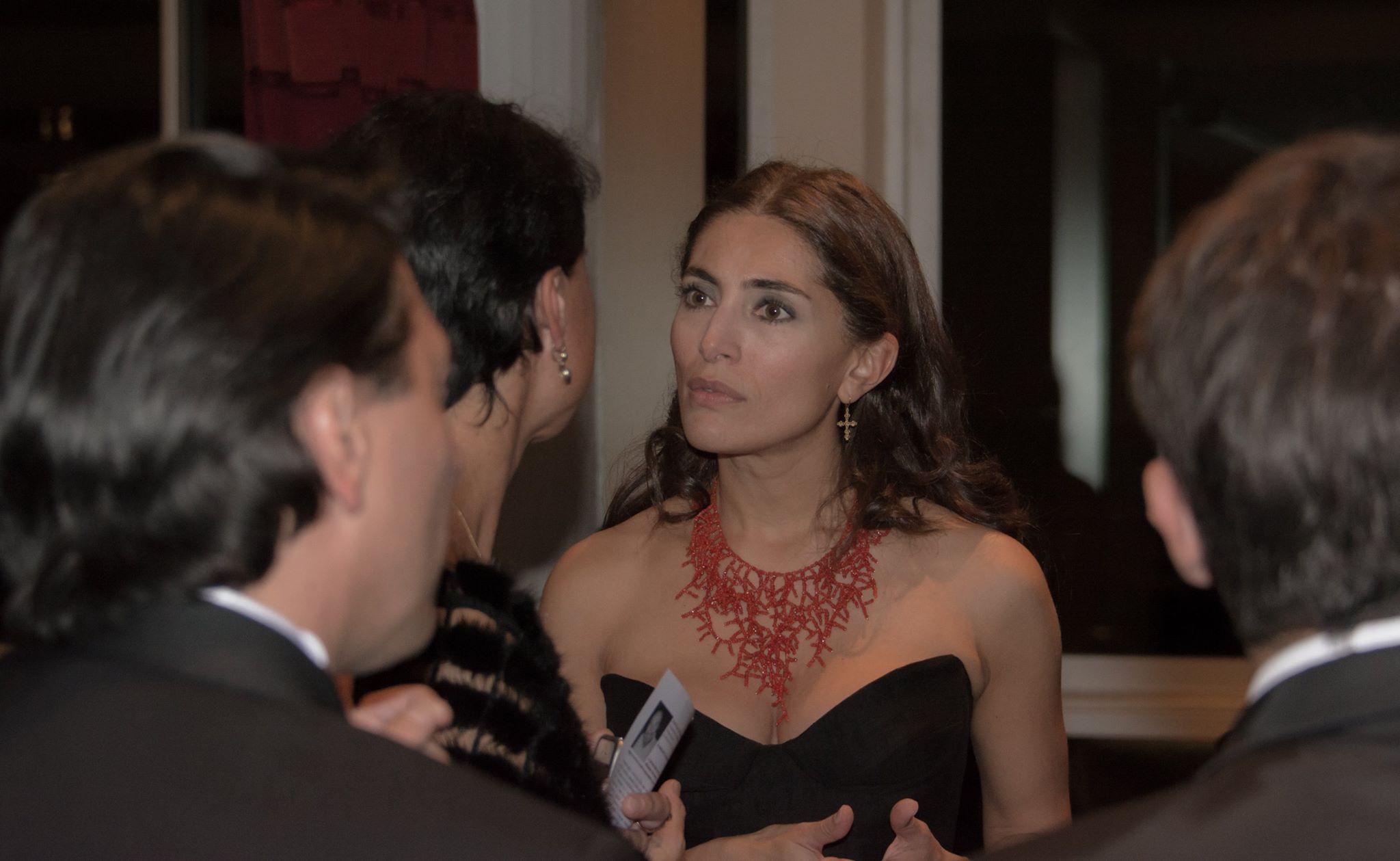 Caterina Murino a Parigi