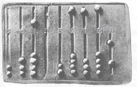 Abaco romano, antesignano del pallottoliere