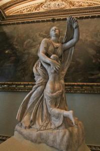 Galleria degli Uffizi, Firenze - Niobe e la figlia