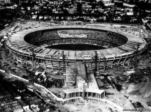 I lavori del Maracanà dopo i Mondiali del 1950 (altervista)