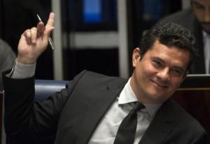 Il giudice Sergio Moro (Epa)