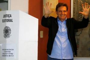 Il sindaco di Rio, Marcelo Civella