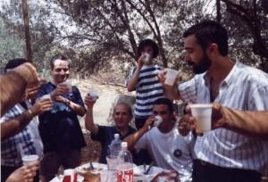 Padre Pugllisi a Villa Cassano luglio 93