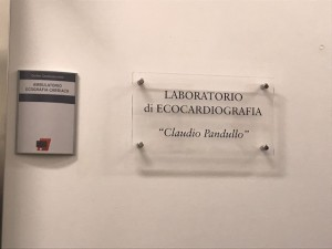 Targa in memoria del dott. Claudio Pandullo