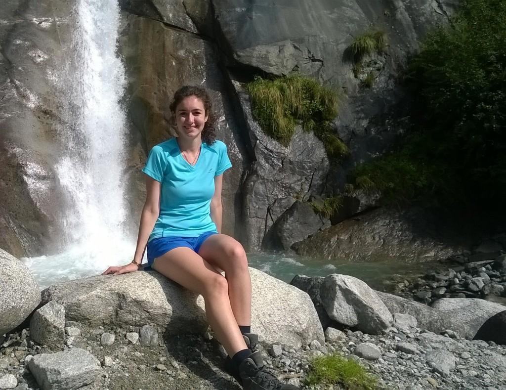 Maddalena Marchi, 17 anni, vuole diventare una traghettatrice fra culture diverse