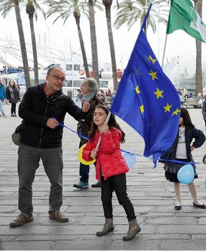 Nicola Vallinoto con la figlia Viola