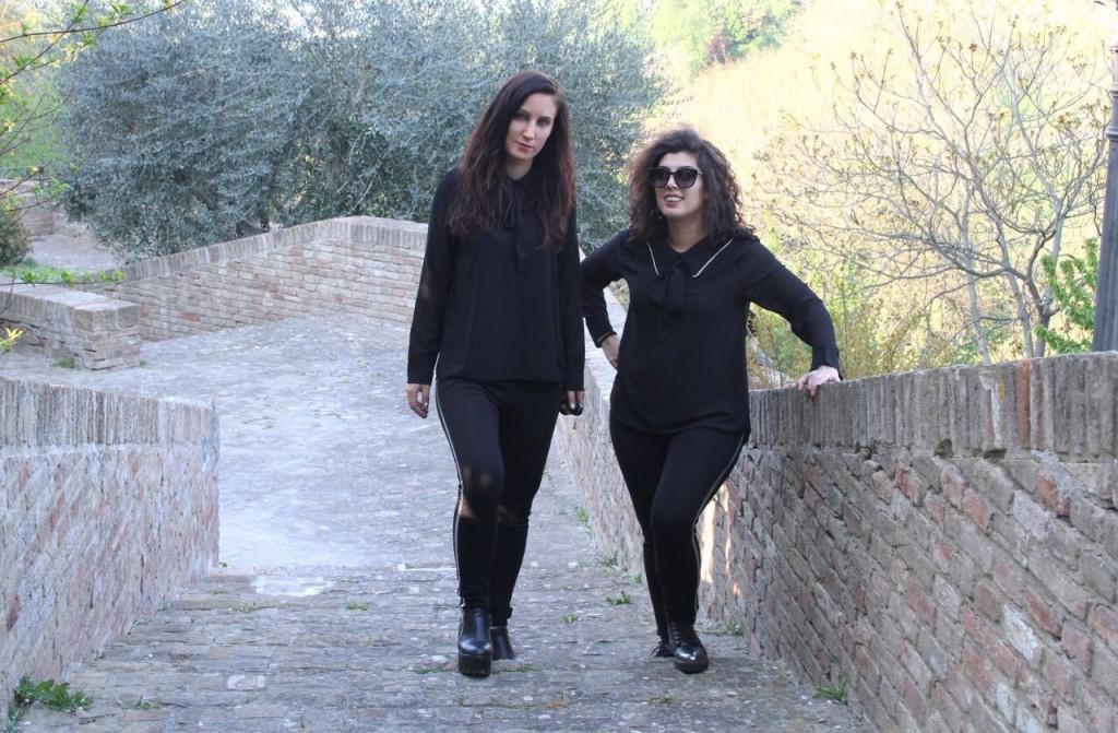 Da sinistra Elisa Cardinali e Stefania Simonetti