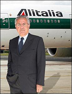 Roberto Colannino in un fotomontaggio del 2008