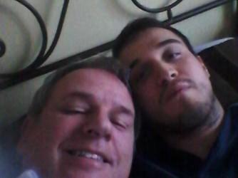 Guido con il figlio Andrea