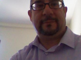 Giovanni, 51 anni, ripreso dalla web cam