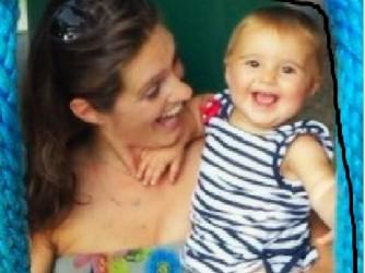 Paola Sant'Ambrogio con la figlia