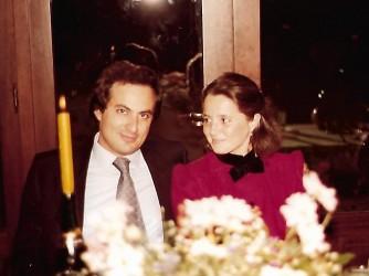 Mauro e Maurizia in un altro scatto dei tempi felici