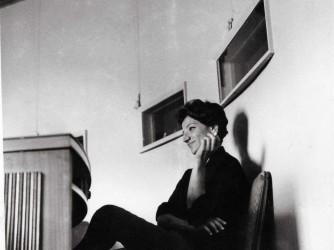 a Venezia alla presentazione di Allarmi siam fascisti, 1961
