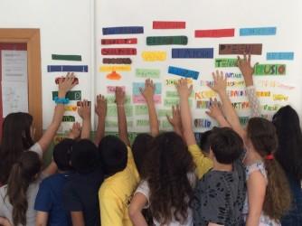 I bambini di Loro Ciuffenna accarezzano le loro parole