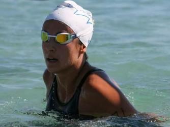Silvia Dessì si sente consolata dal mare