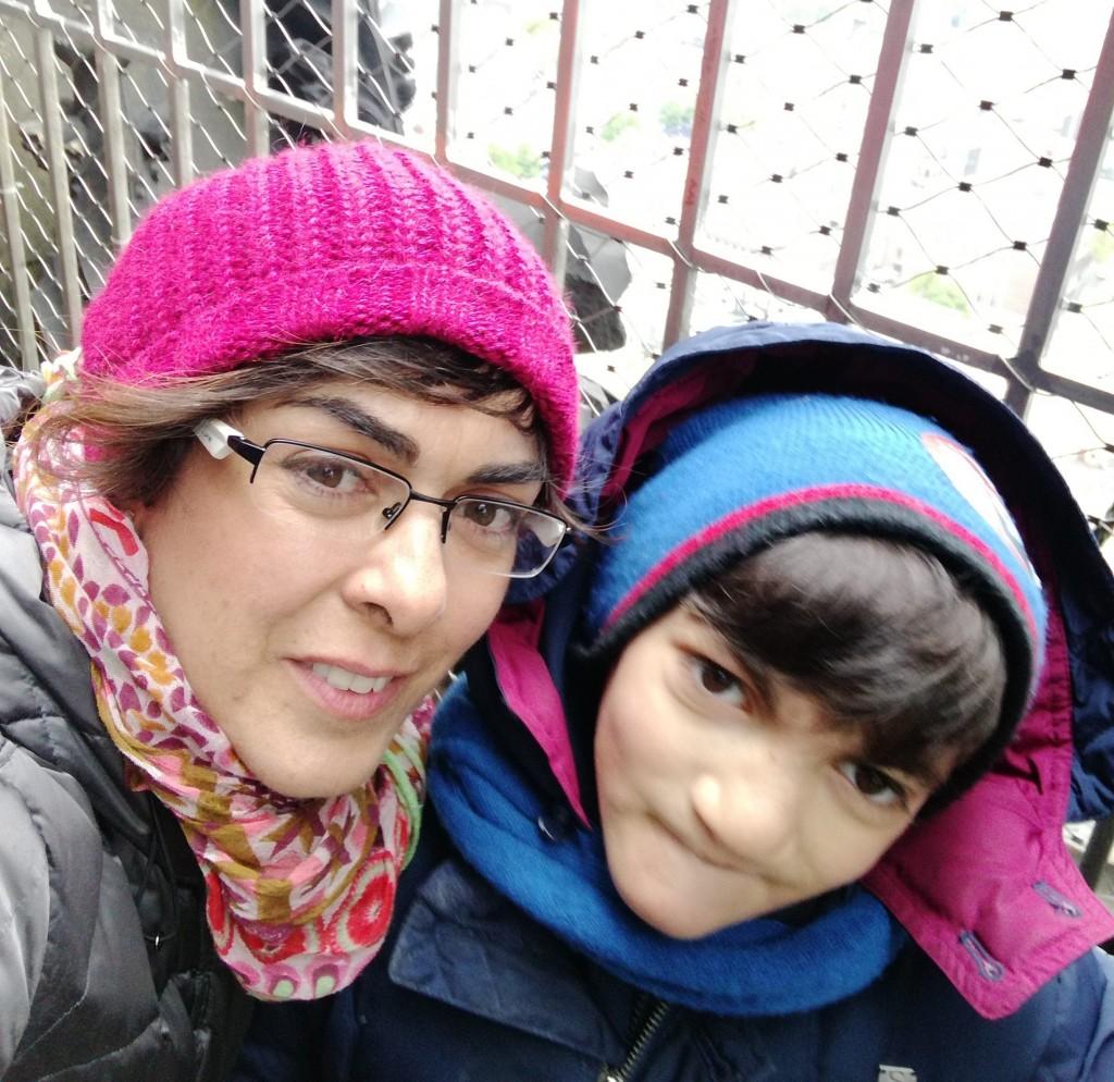 Amna e suo figlio Elia
