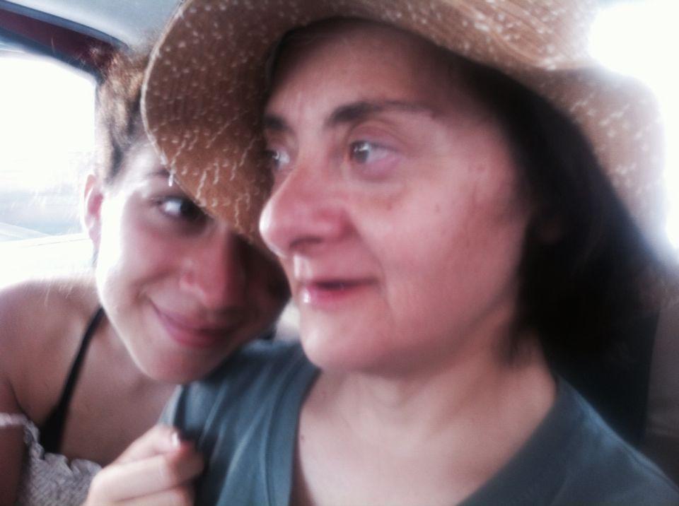 Ida con sua zia Giusi