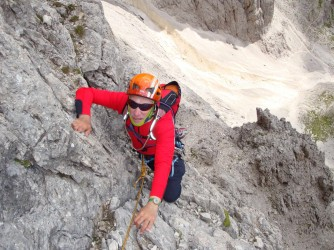 Stefano Matteucci ama la montagna