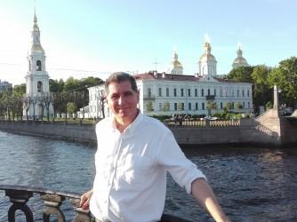Pompeo Della Posta in un recente viaggio in Russia