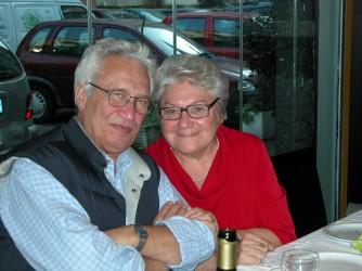 Luigia con il marito Sergio