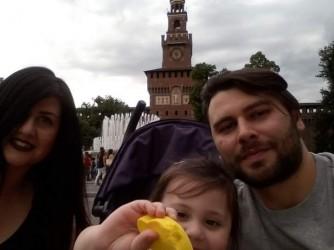 Giorgia, Carlo e la piccola Sofia