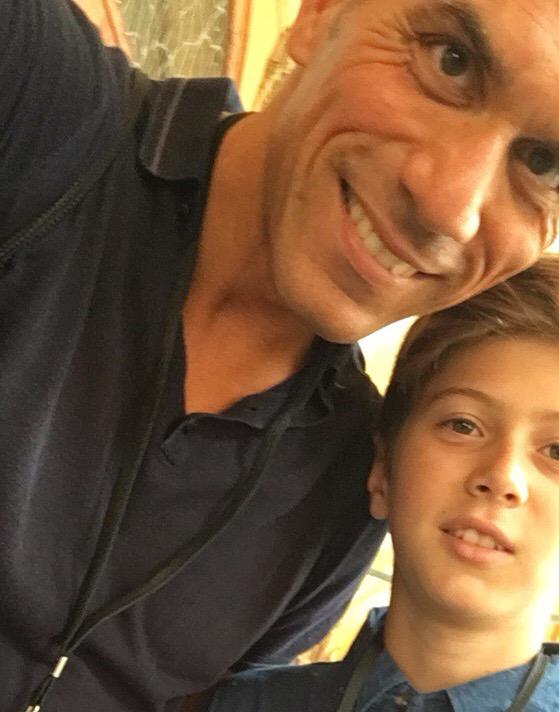 Marco e Riccardo, padre e figlio