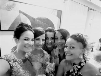 Da sinistra: Gianpiera, Maria Chiara, Antonella, Liliana e Ilenia