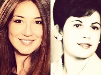 Luana, a sinistra, e sua madre Giuseppina