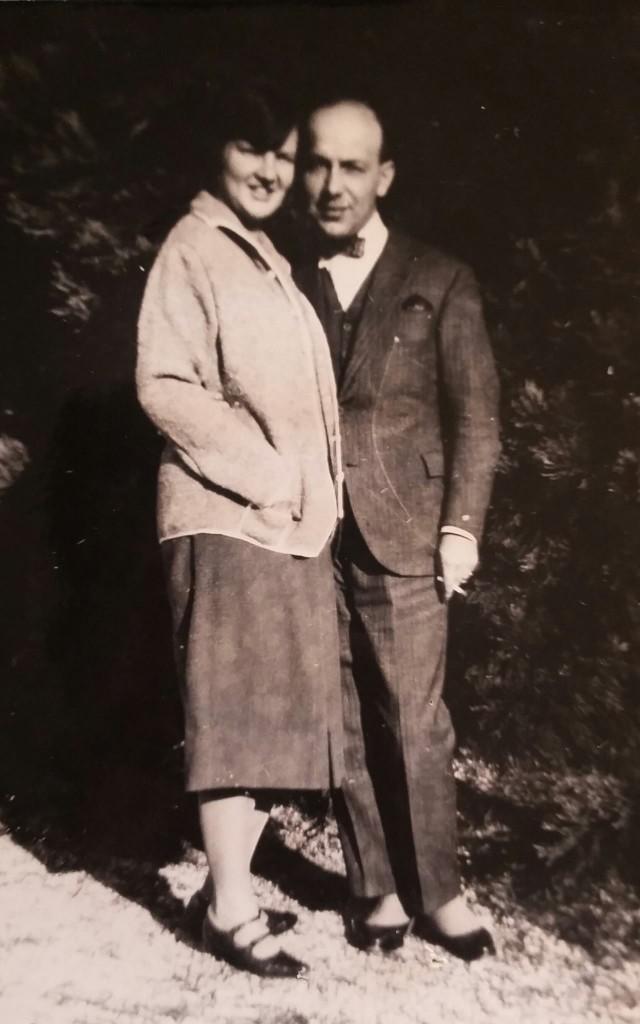 Mario e Ilse Matilde in una foto degli Anni Trenta
