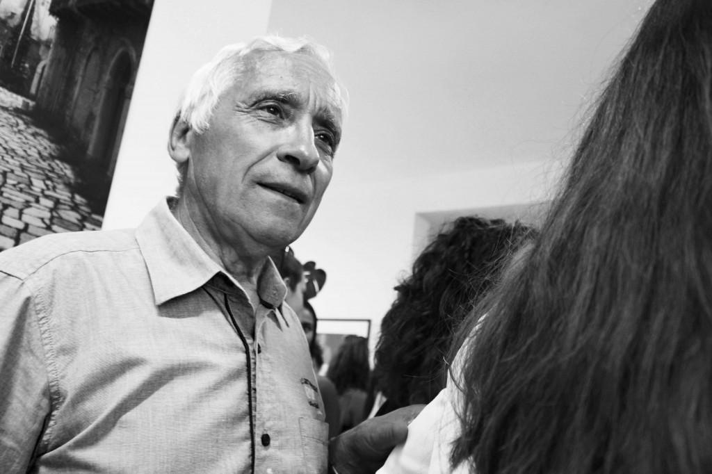 Enzo Fazzi vive sul Monte Amiata