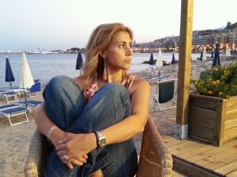 Francesca in vacanza in Sicilia